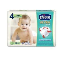 Подгузники Chicco Ultra Fit&Fun Maxi, 8-18 кг, 19 шт.