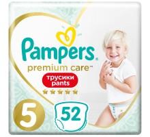 Подгузники-трусики Pampers Premium Care, размер 5, 12-17 кг, 52 шт