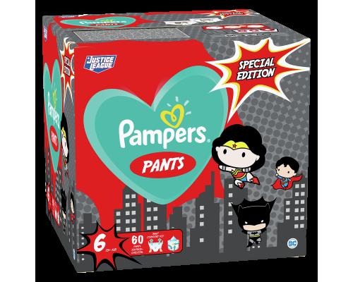 Подгузники-трусики Pampers Pants SPECIAL EDITION, размер 6, 15+ кг, 60 шт